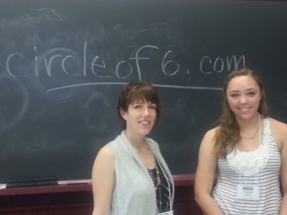 Co-Founder of Circle of 6 Nancy Schwartzman and Student Leader from Brandeis