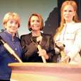Pelosi, Kidman, Torre Help FVPF Break Ground on New International Center