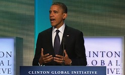 President Obama Addresses Human Trafficking