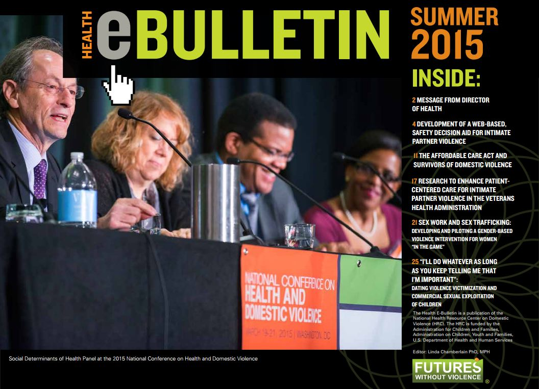 summer 2015 health e bulletin cover
