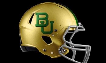 Baylor University helmet
