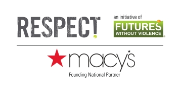FUTURES, Macy's, and RESPECT! Challenge Logos