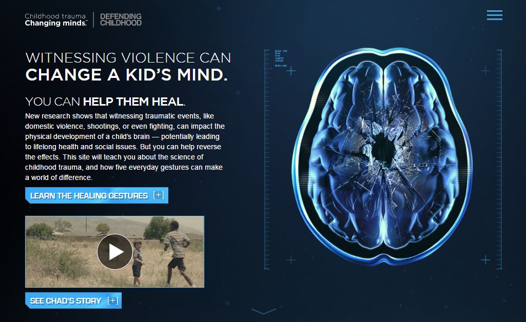 How Trauma Is Changing Childrens Brains >> Changing Minds The Campaign To End Childhood Trauma