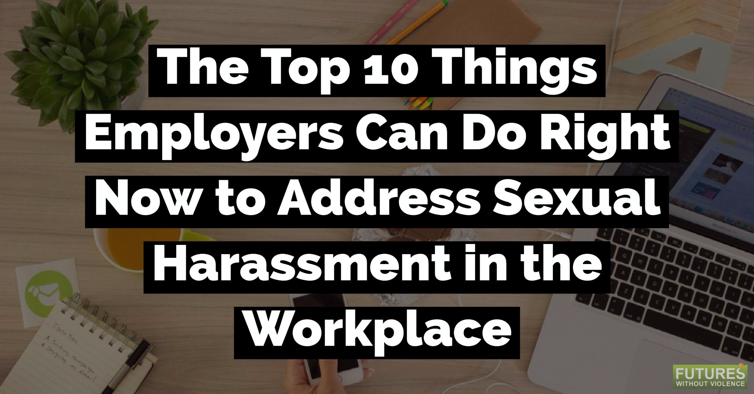 Sexual harassment in the workplace training materials