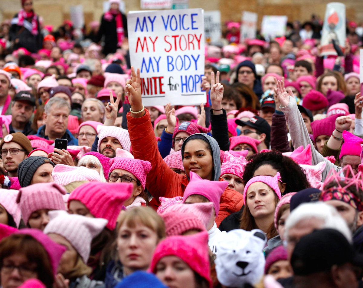 Womens March by Reuters